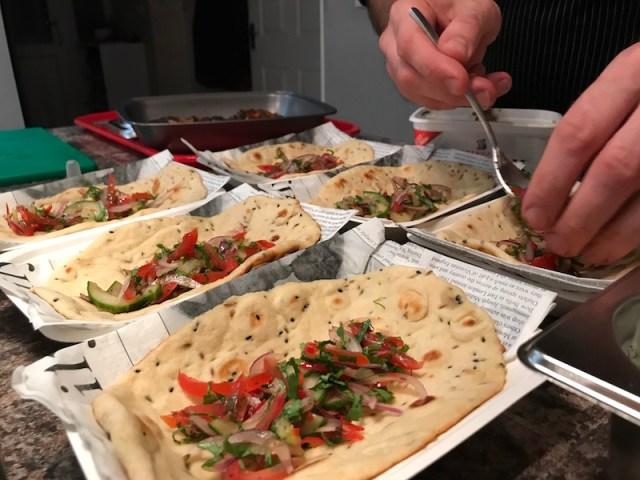 Mine's a Kebab with Stuart Brown and La Belle Assiette