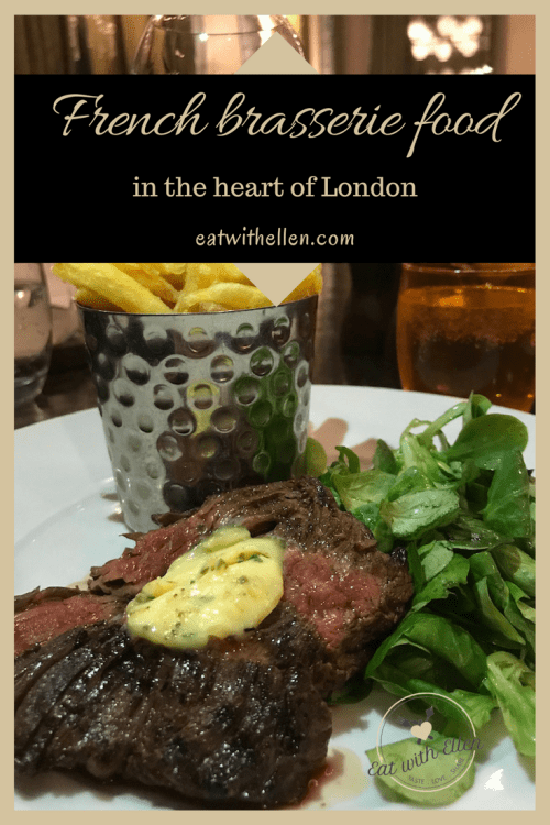 French brasserie food in the heart of London