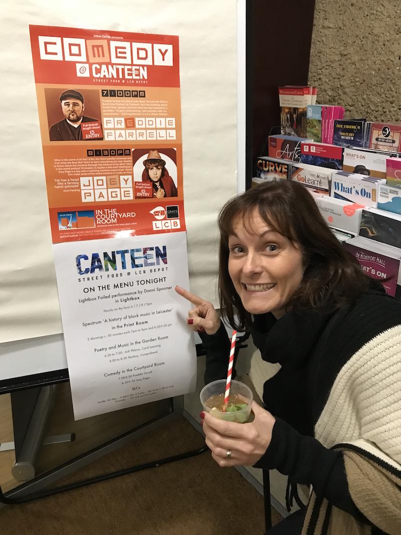Canteen, Leicester