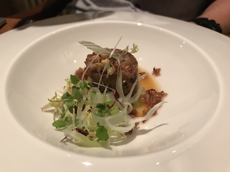 Dinner at Ye Olde Bell & Spa