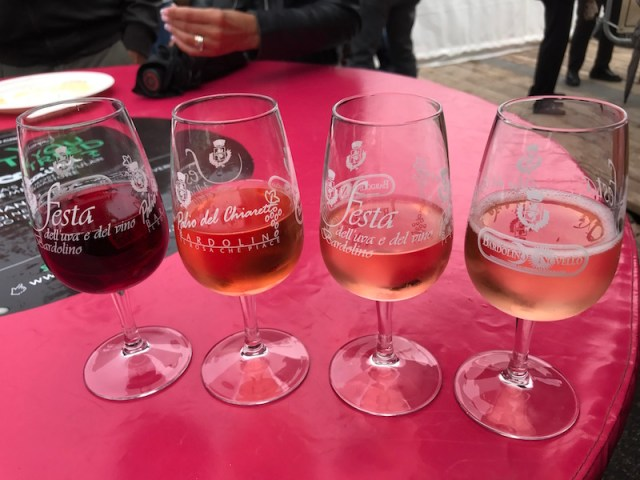 Bardolino wine festival, Lake Garda