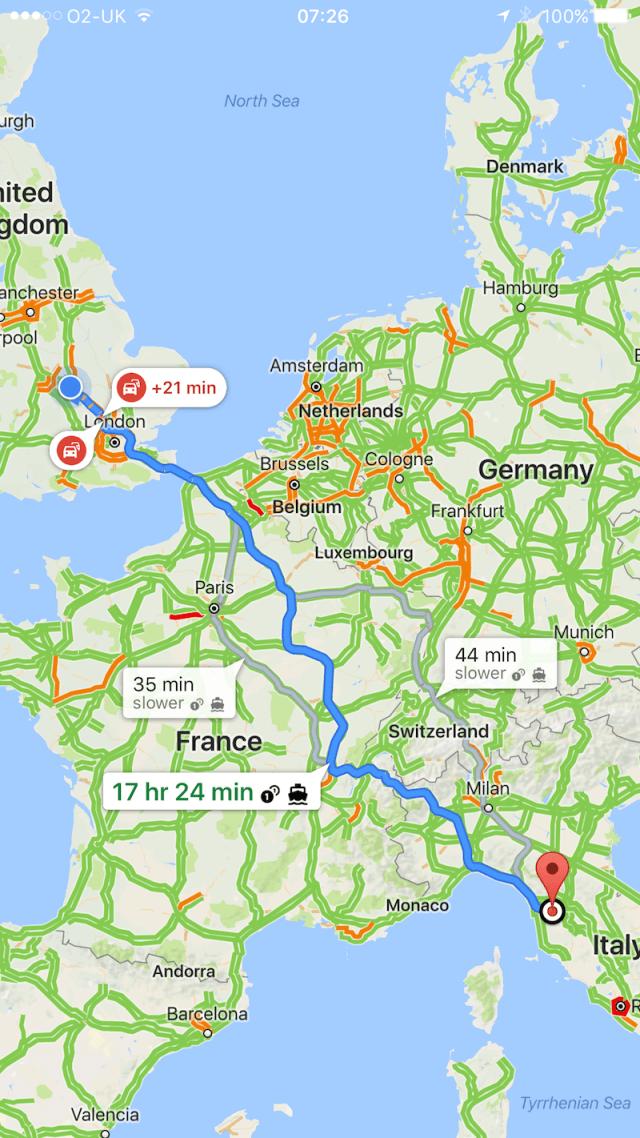 Roadtripping in Europe