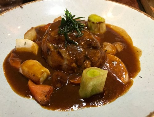 Lamb navarin at Bistrot Pierre
