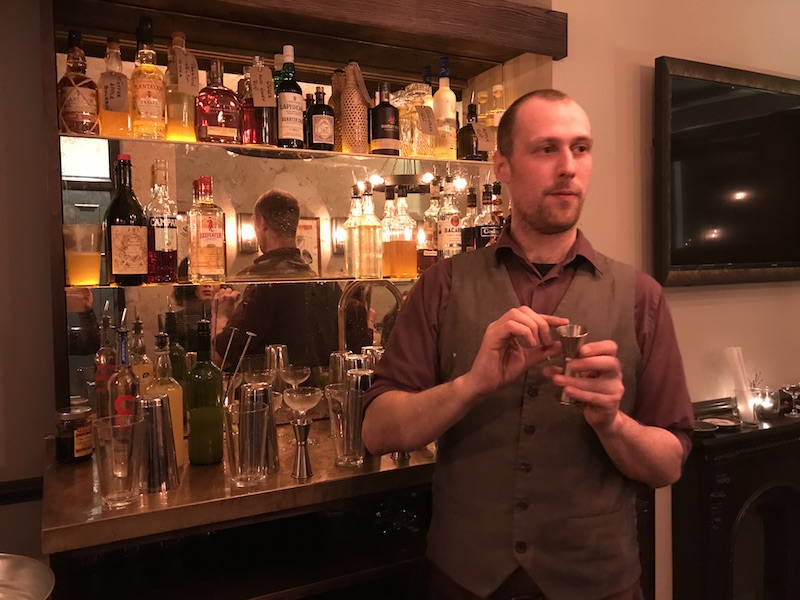 Cocktail masterclass at the Portobello Star