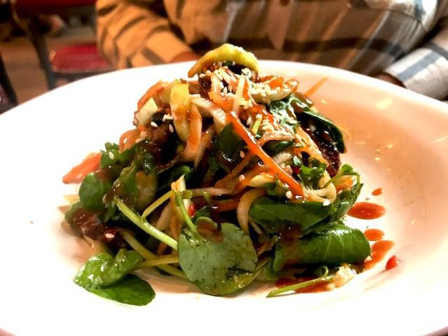 Duck salad at Bistrot Pierre, Birmingham