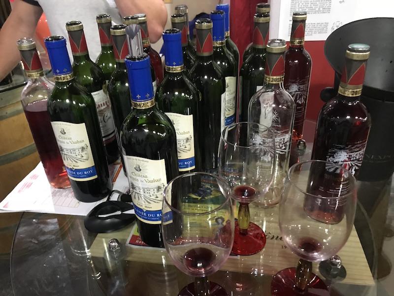 Wine tasting in Bordeaux