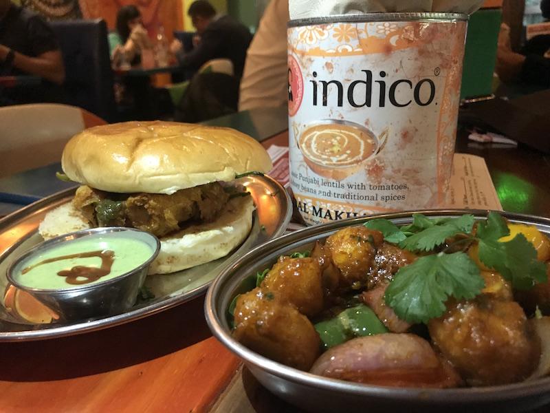 Vada Pav at Indico Street Kitchen