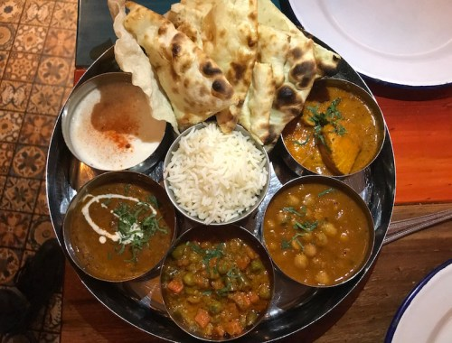 Thali at Indico Street Kitchen