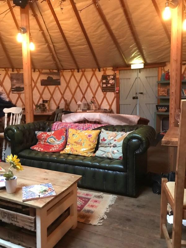 Shucks at the Yurt, Thornham