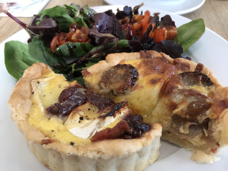 Quiche at Olivia's Coffee House, Rugby