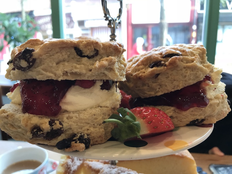 Afternoon tea at Treacles, Rugby