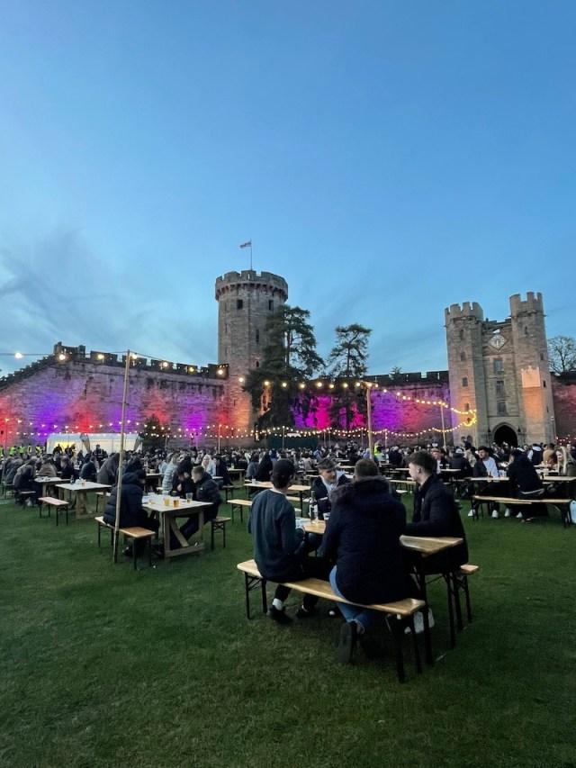 Open Arms Warwick Castle