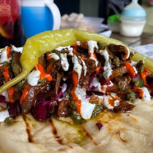 Bop Kebabs at The Old Crown
