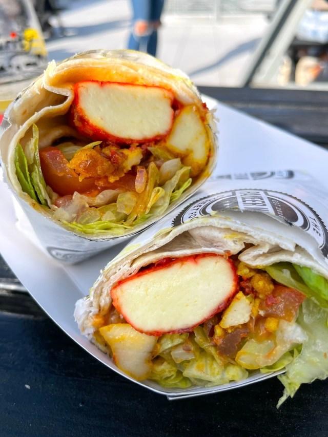 Paneer Wrap Street Food Co