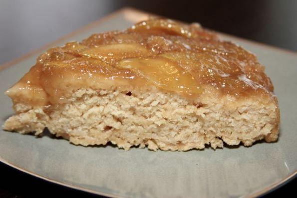 A dense, delicious cake. Serve warm with vanilla ice cream.