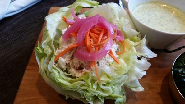 Albacore Tuna Lettuce Wraps
