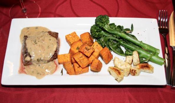 Classic Steak Au Poivre