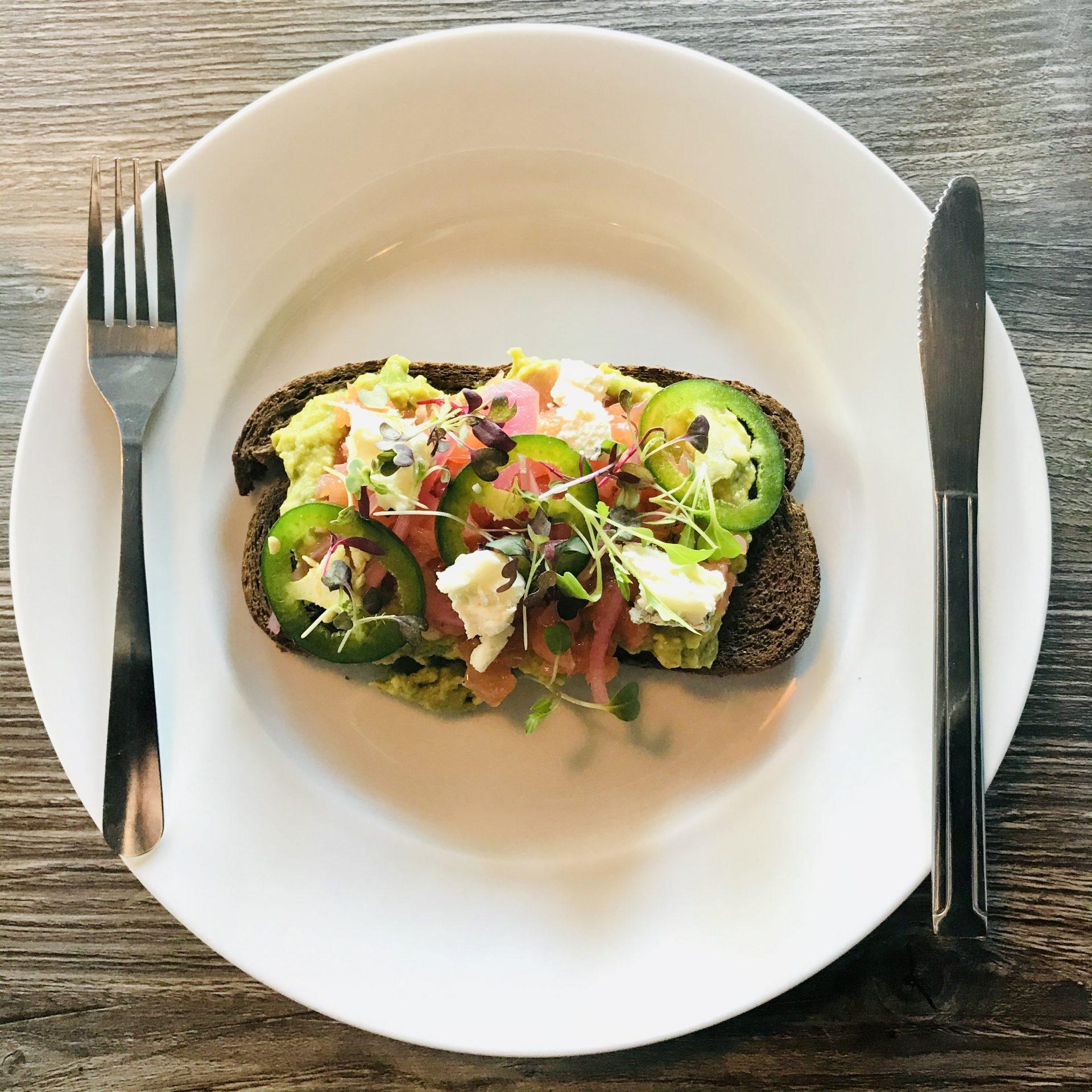 Smoked Salmon & Avocado Toast