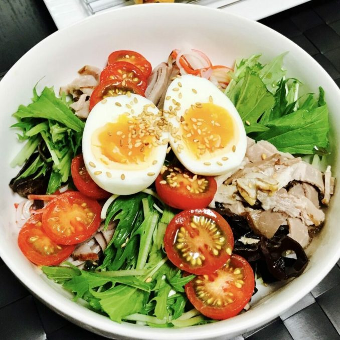 Chinese Cold Noodle Salad