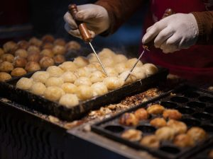 Takoyaki - making balls