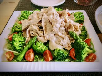 Pork Shabu Shabu Salad