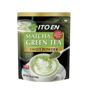 Matcha Green Tea Sweetend Powder