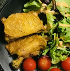 Curry Spiced Baked Chicken EATwithOHASHI