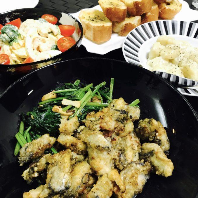 Fried Oysters Dinner EATwithOHASHI.com