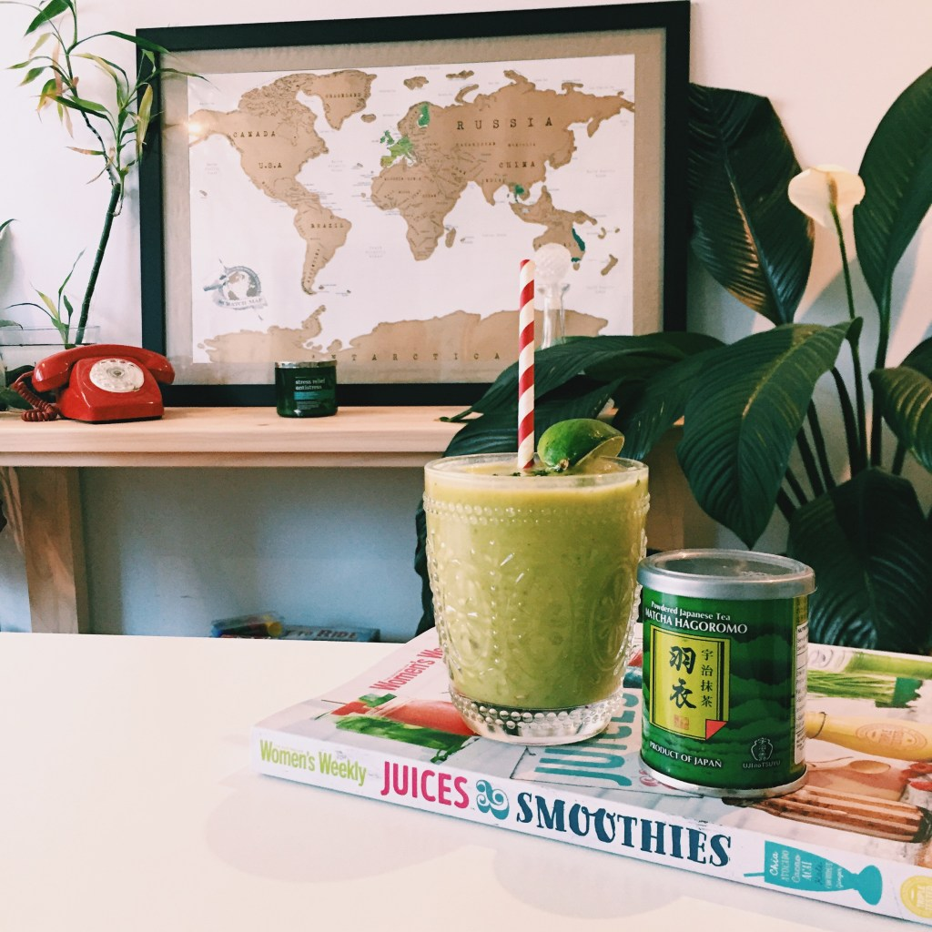 Matcha Avocado Smoothie | eat, write + explore