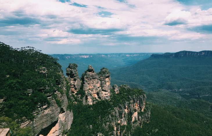A Trip to the Blue Mountains