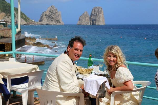 Capri wedding Lunch 4