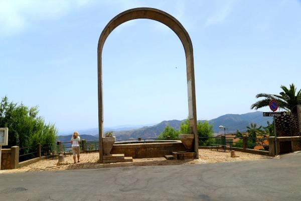 Sicily arch of pollina