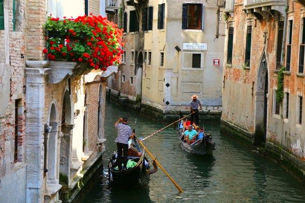 Venice Canal gondolas 2