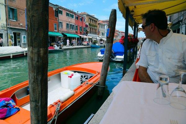Venice murano lunch 9