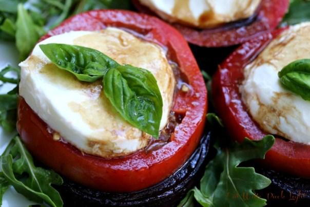 Roasted Beet and Tomato Salad