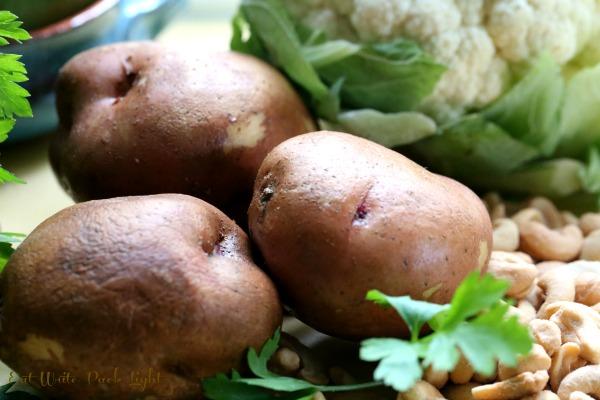 Potato Soup 3 potatoes