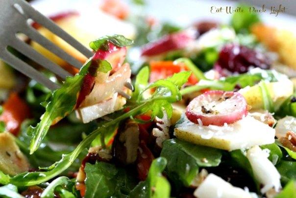 Roasted Root Vegetable Salad Fork