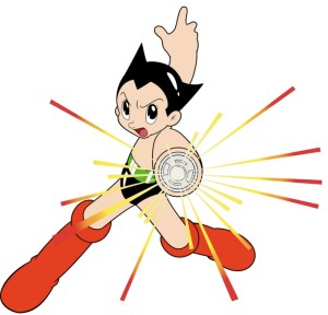 Proof that Astro Boy is Mega Man's father.