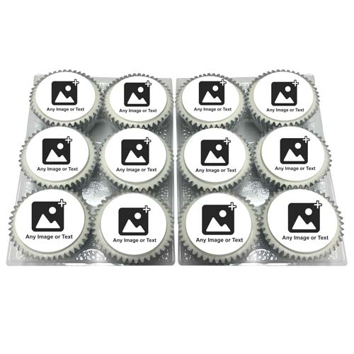 Personalised Cupcakes Add Your Photos