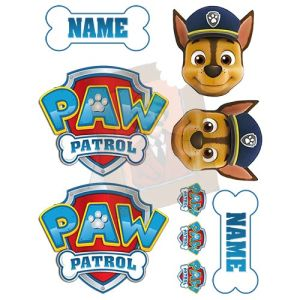 Paw Patrol Edible Photo Set