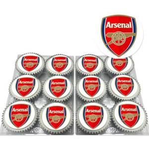 Arsenal FC Cupcakes