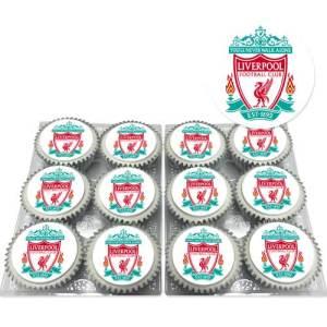 Liverpool FC Cupcakes