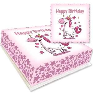 Unicorn Cartoon Cake