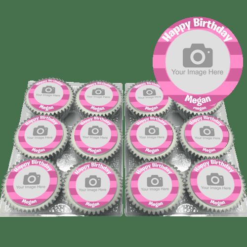 Girl Birthday Cupcakes