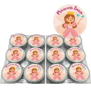 Princess Cupcakes With Text