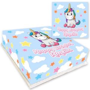 Personalised Unicorn Cake
