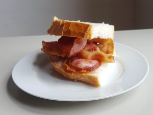 The bacon sandwich. A long time British favourite