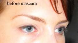 Eye before mascara