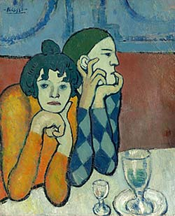 Picasso Two Saltimbanques