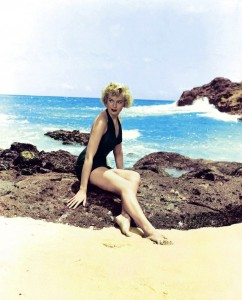 Deborah Kerr in From Here to Eternity